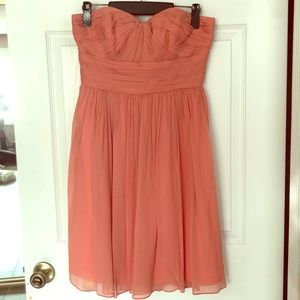 J Crew silk chiffon bridesmaid dress size 4